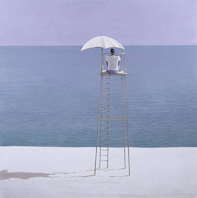Beach Guard Poster