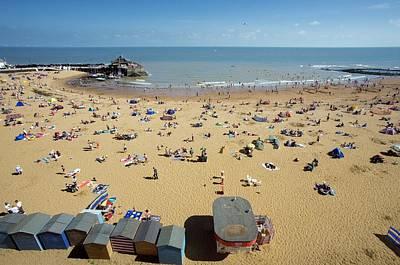 Beach In Summer Poster