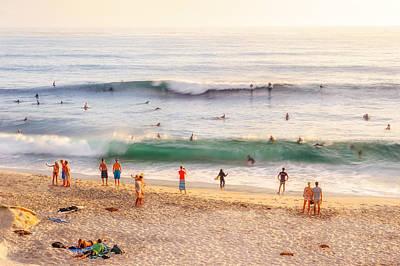 Beach Life Poster by Shuwen Wu