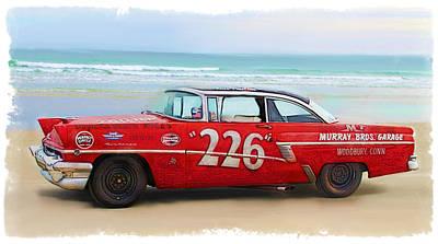 Beach Race Car 226 Poster