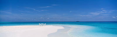 Beach Scene The Maldives Poster by Panoramic Images
