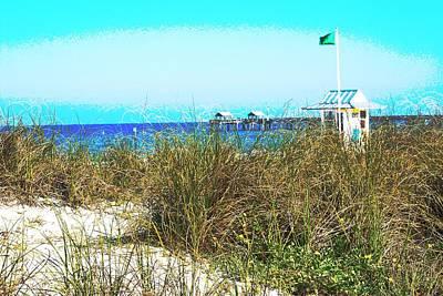 Beach Serenity Poster