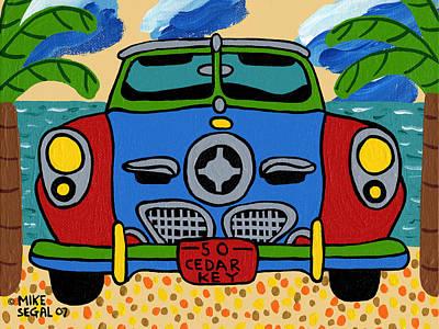 Beach Studebaker Poster
