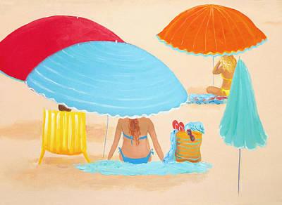 Beach Style Poster by Jan Matson