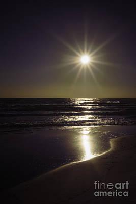 Beach Sun 2 Poster by Walt Foegelle