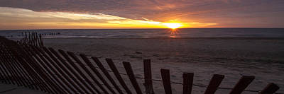 Beach Sunrise In 3 To 1 Aspect Ratio  Poster by Sven Brogren