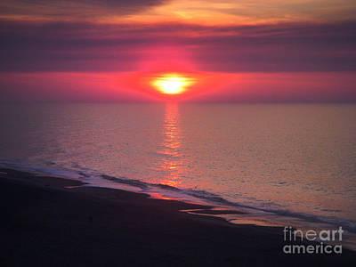 Beach Sunset Poster by Stuart Mcdaniel