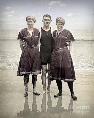 Beach Wear Fashion 1910 Poster