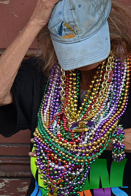 Bead Lady Of The Quarter Poster