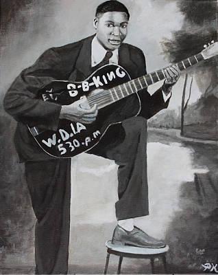 Beale Street Blues Boy Poster by Patrick Kelly