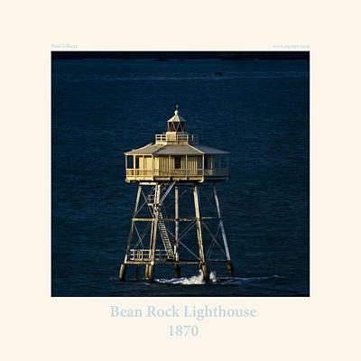bean Rock Lighthouse 1870 Poster by Paul Gilbert