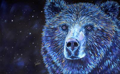 Bear Dreams Poster by Teshia Art