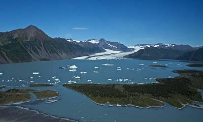 Bear Glacier Seward Alaska Poster