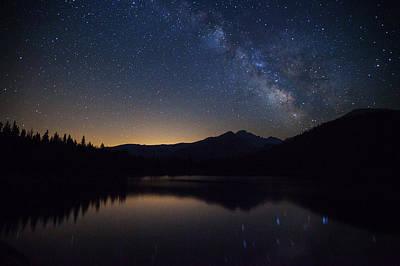 Bear Lake Milky Way Poster