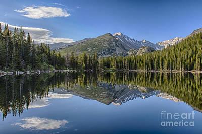 Bear Lake Reflection Poster