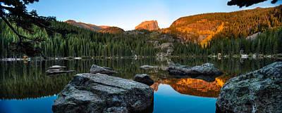 Bear Lake Rocky Mntn Natl Park Colorado Poster