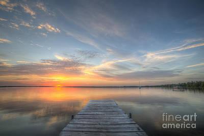 Bear Lake Sunset Poster