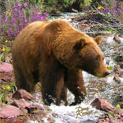 Bear Necessities II Poster by Doug Kreuger