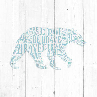 Bear Shiplap Poster
