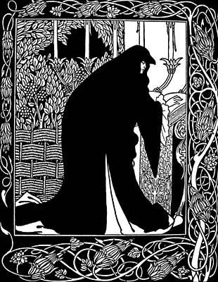 Beardsley Guinevere Poster by Granger