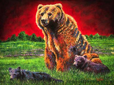 Beargrass Poster by Teshia Art