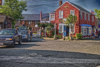 Poster featuring the photograph Bearskin Neck by Mark Myhaver