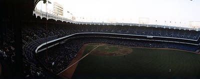 Beautiful Right Field View Of Old Yankee Stadium Poster by Retro Images Archive