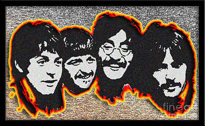 'beatles 68' Poster by Frett Campbell