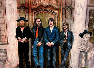 Beatles Hey Jude Poster by Leland Castro