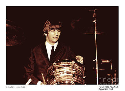 Beatles Ringo Color Poster