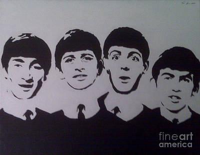 Beatles Poster by Tamir Barkan