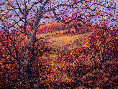 Poster featuring the painting Beautiful Autumn by Natalie Holland