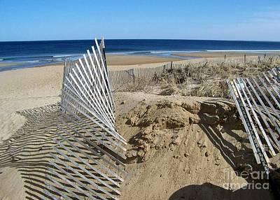 Beautiful Beach Day Poster