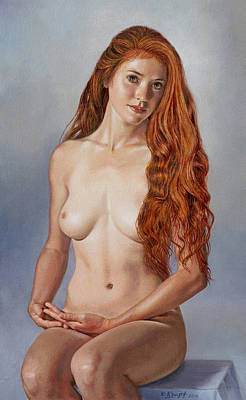 Beautiful Becca Poster by Paul Krapf