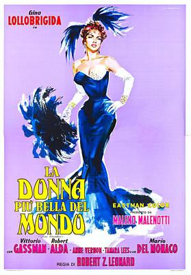 Beautiful But Dangerous, Italian Poster