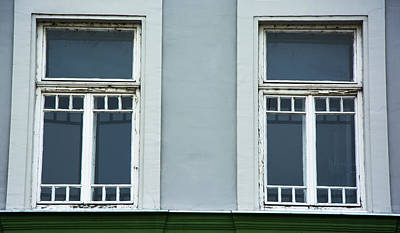 Beautiful Green Windows Poster by Newnow Photography By Vera Cepic