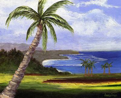 Poster featuring the painting Beautiful Kauai by Jamie Frier