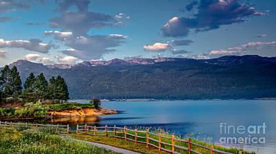 Beautiful Lake View Poster