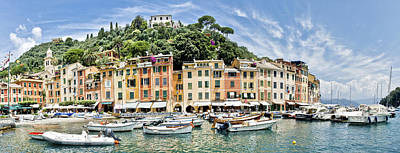 Beautiful Portofino Poster