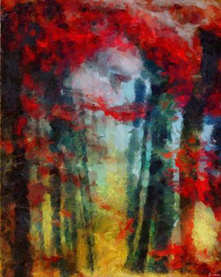 Poster featuring the painting Beautiful Secrets by Joe Misrasi