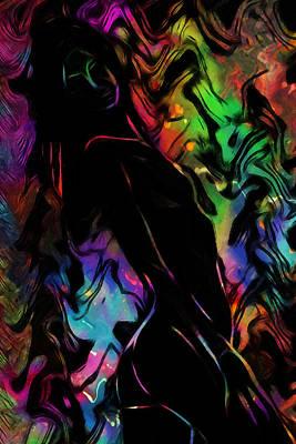Beautiful Shadow Poster by Steve K