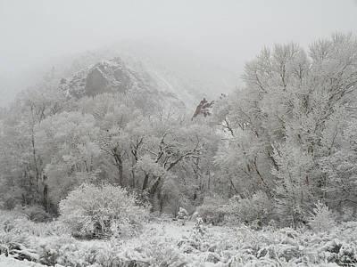 Beautiful Snow April In Utah Poster