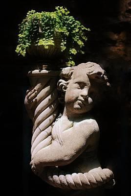 Beautiful Statue Poster by Joy Bradley