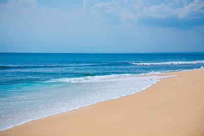 Beautiful Surfing Tropical Sand Beach Poster