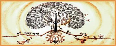 Beautiful Tree Of Life Poster by Anjali Vaidya