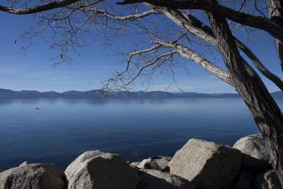 Beautiful View Of Lake Tahoe Poster by Ivete Basso Photography