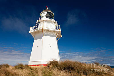 Beautiful Waipapa Point Lighthouse The Catlins Nz Poster by Stephan Pietzko