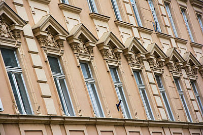 Beautiful Windows In A Row Poster by Newnow Photography By Vera Cepic