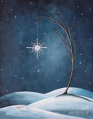 Beautiful Winterland By Shawna Erback Poster