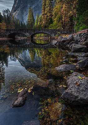 Beautiful Yosemite National Park Poster by Larry Marshall